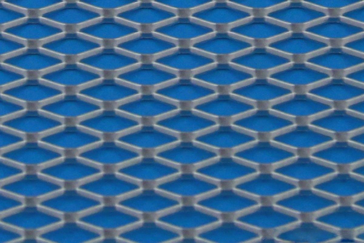 SIATKA ALU DIAMOND SILVER 120 * 20cm - GRUBYGARAGE - Sklep Tuningowy